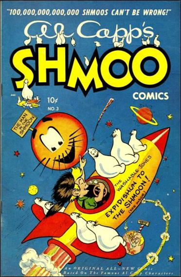 Al Capp's Shmoo Comics 3-A by Toby Press Inc.