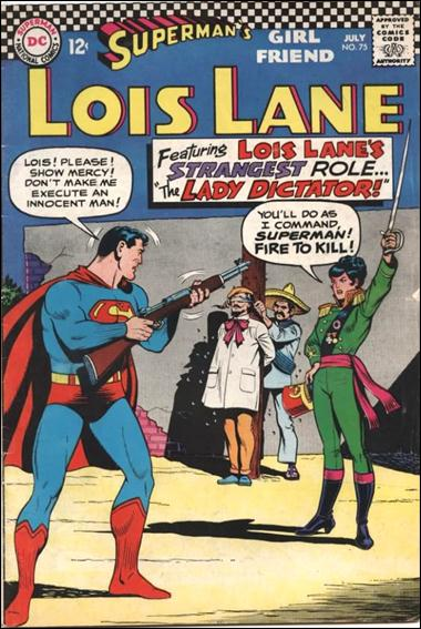 Superman's Girl Friend Lois Lane 75-A by DC