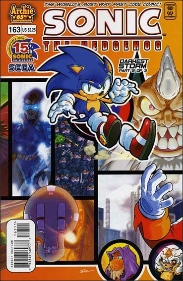 Sonic the Hedgehog (1993) 163-A by Archie