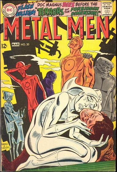 Metal Men (1963) 30-A by DC