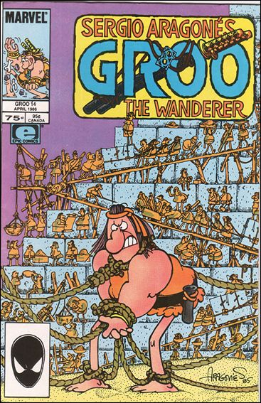 Sergio Aragones Groo the Wanderer 14-A by Epic