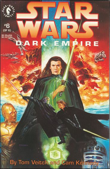 Star Wars: Dark Empire 6-A by Dark Horse