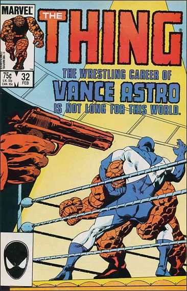 Thing (1983) 32-A by Marvel