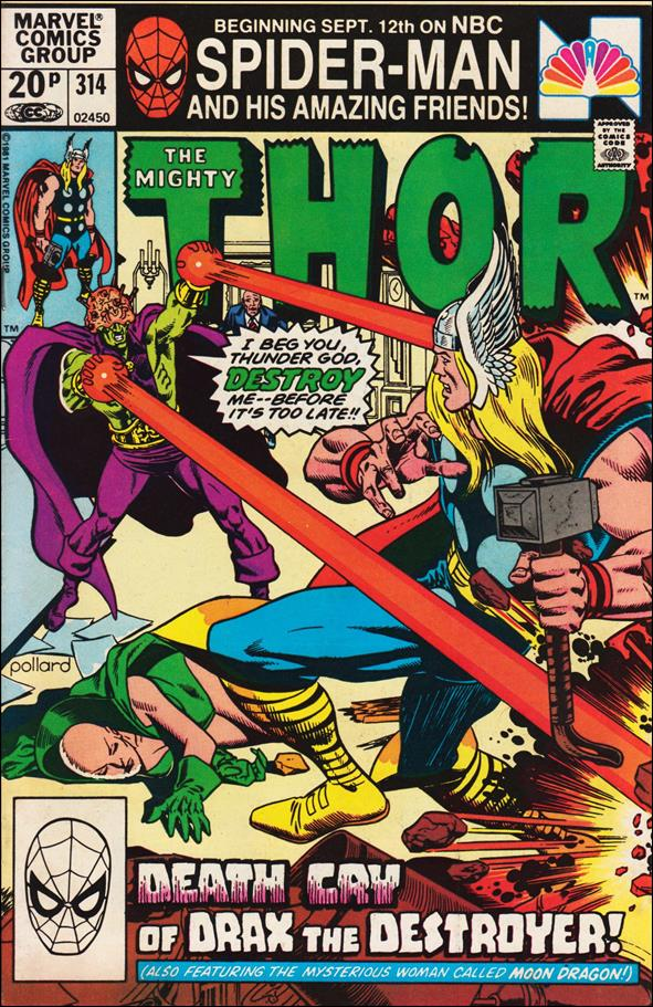 Thor (1966) 314-B by Marvel
