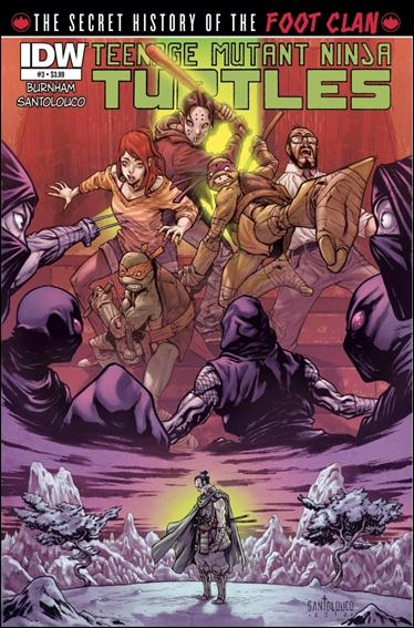 Teenage Mutant Ninja Turtles: The Secret History of the Foot Clan 3-A by IDW