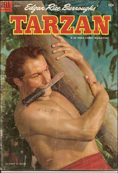 Tarzan (1948) 54-A by Dell