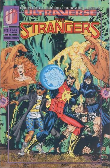 Strangers (1993) 2-B by Malibu