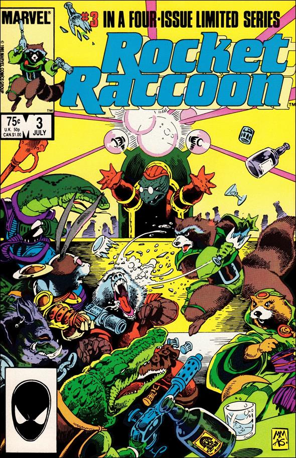 Rocket Raccoon (1985) 3-A by Marvel