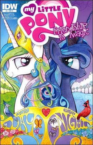 My Little Pony: Friendship is Magic 5-C by IDW
