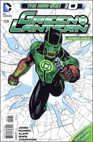 Green Lantern (2011) 0-C by DC