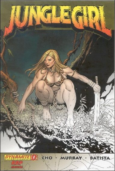 Jungle Girl (2007) 0-C by Dynamite Entertainment