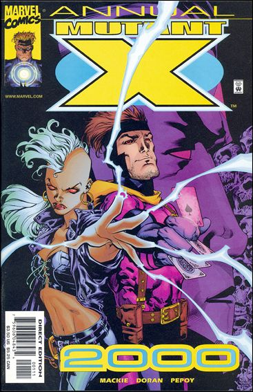Mutant X Annual 2000-A by Marvel