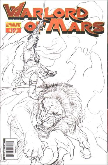 Warlord of Mars 10-E by Dynamite Entertainment