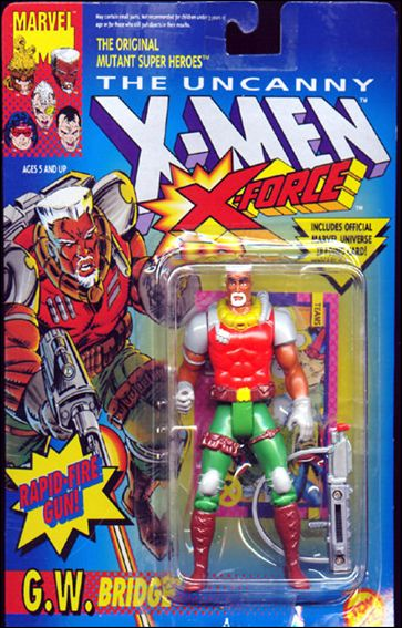 X-Men (X-Force) G.W. Bridge by Toy Biz