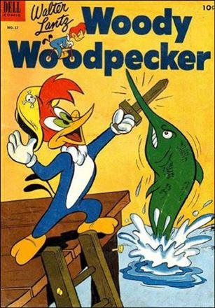 Walter Lantz Woody Woodpecker  17-A