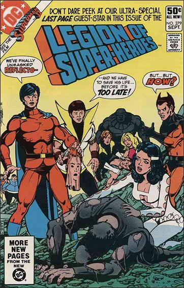 Legion of Super-Heroes (1980) 279-A by DC