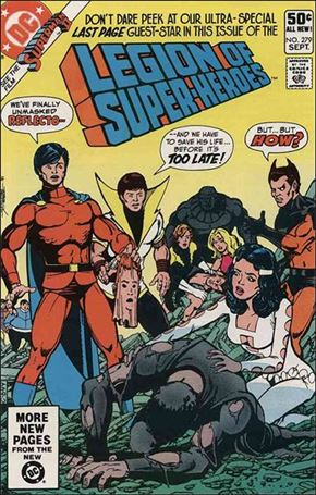 Legion of Super-Heroes (1980) 279-A