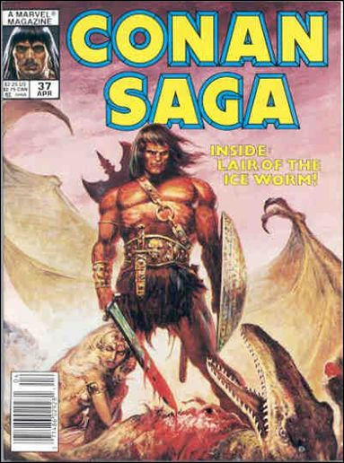 Conan Saga 37-A by Marvel