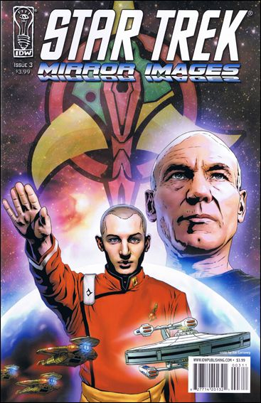 Star Trek: Mirror Images 3-A by IDW