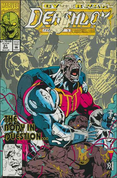 Deathlok (1991) 21-A by Marvel
