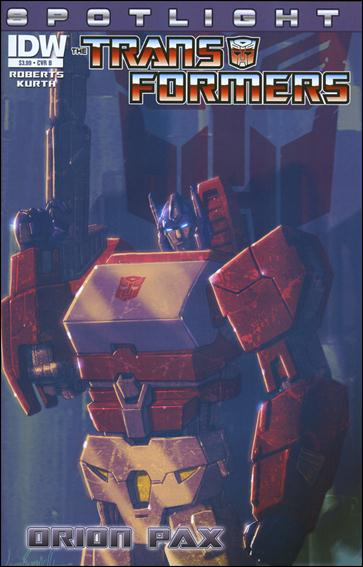 Transformers Spotlight: Orion Pax nn-B by IDW