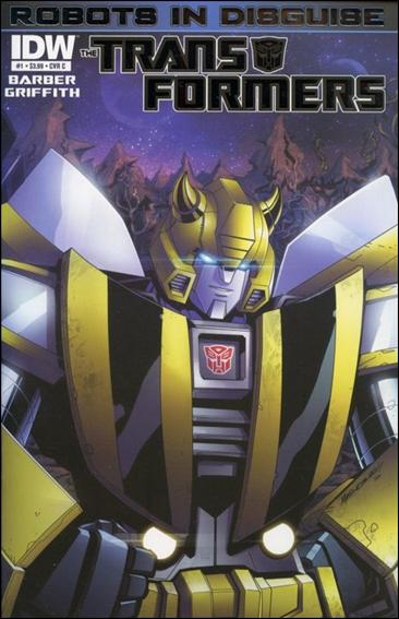Transformers: Robots in Disguise 1-C by IDW