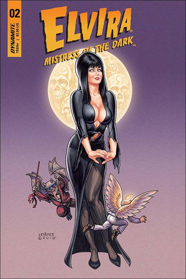 Elvira, Mistress of the Dark (2018) 2-A by Dynamite Entertainment