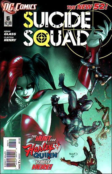 Suicide Squad (2011) 6-A by DC