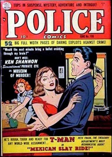 Police Comics 106-A by Comic Magazines
