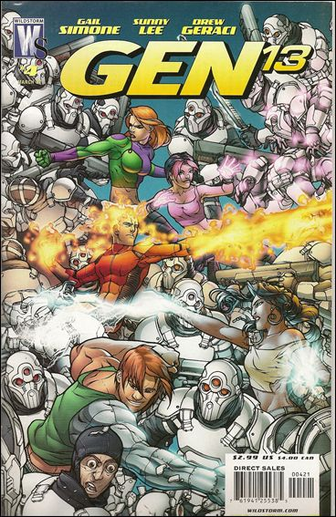 Gen13 (2006) 4-B by WildStorm