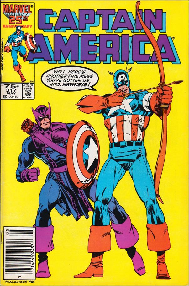 Captain America (1968) 317-A by Marvel