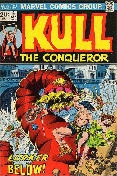 Kull the Conqueror (1971) 6-A by Marvel