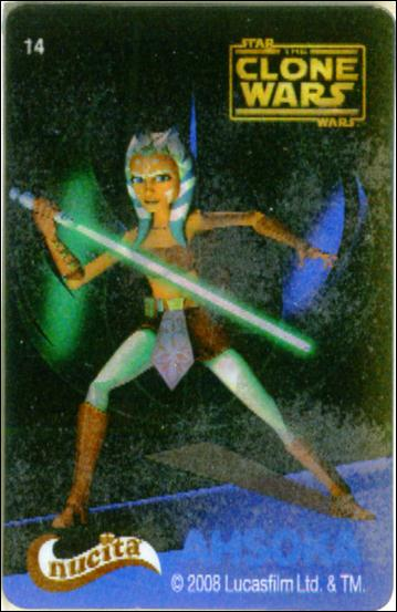 Star Wars The Clone Wars Nucita Motion Cards (Promo) 14-A by Lucasfilm Ltd.