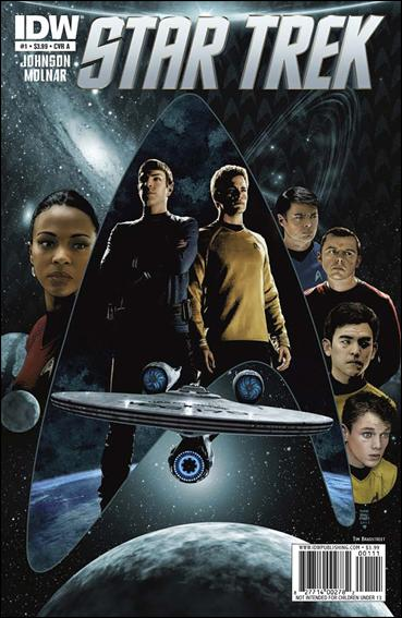 Star Trek (2011) 1-A by IDW