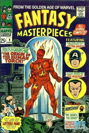 Fantasy Masterpieces (1966) 9-A by Marvel