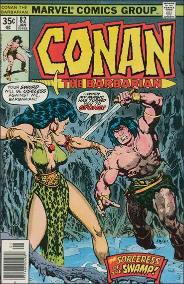 Conan the Barbarian (1970) 82-A by Marvel
