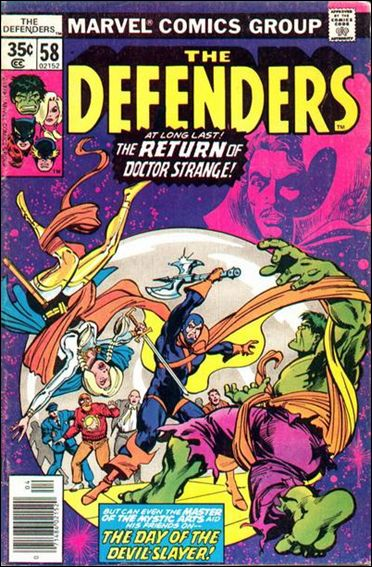 Defenders (1972) 58-A by Marvel