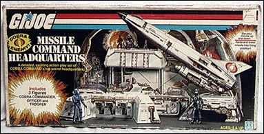 "G.I. Joe: A Real American Hero 3 3/4"" Basic Vehicles and Playsets Cobra Missile Command Headquarters (Sears Excl.) by Hasbro"