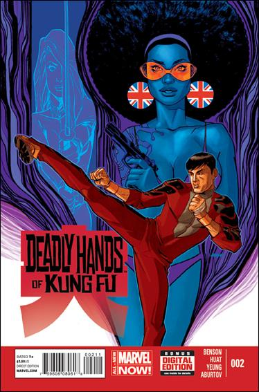 Deadly Hands of Kung Fu (2014) 2-A by Marvel