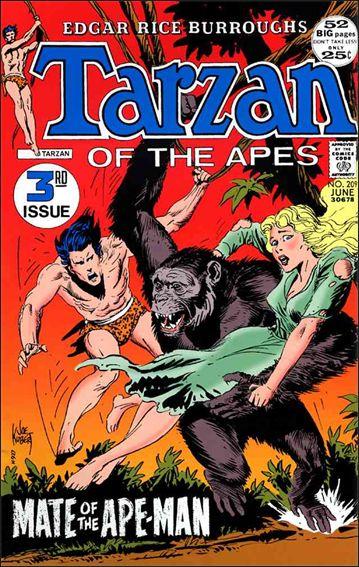 Tarzan (1972) 209-A by DC