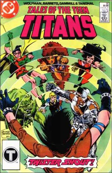 Tales of the Teen Titans 86-A by DC