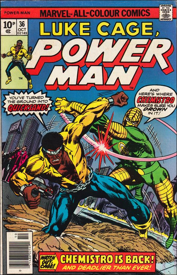Power Man 36-B by Marvel