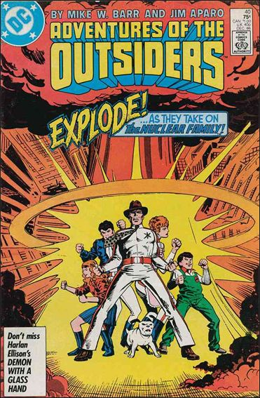 Adventures of the Outsiders 40-A by DC