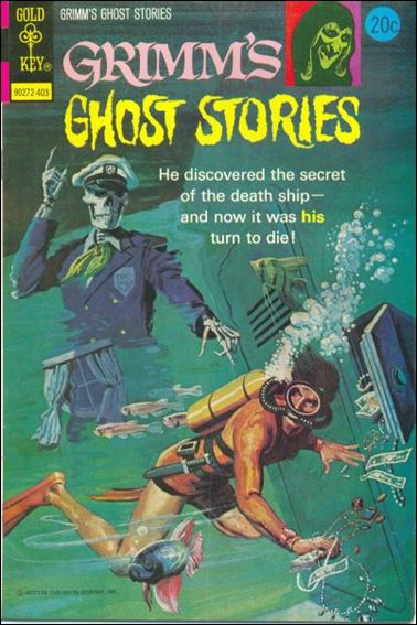 Grimm's Ghost Stories 15-A by Gold Key