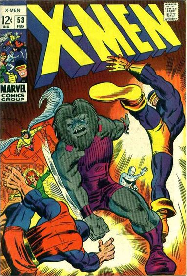 X-Men (1963) 53-A by Marvel