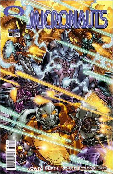 Micronauts (2002) 10-A by Image