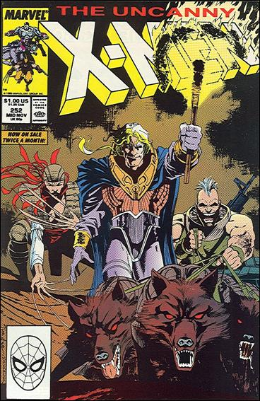 Uncanny X-Men (1981) 252-A by Marvel