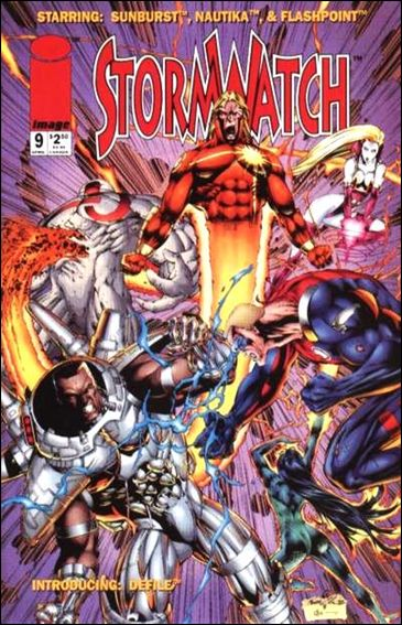 StormWatch (1993) 9-A by Image