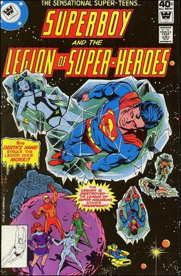Superboy & the Legion of Super-Heroes 254-B by DC
