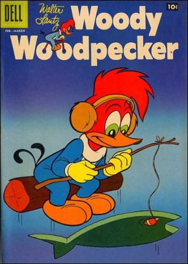 Walter Lantz Woody Woodpecker  47-A by Dell